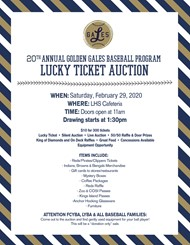 Lucky Ticket Auction 2020