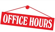 Office Hours - sign