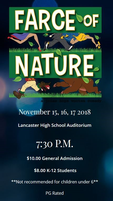 LHS Theatre Department presents Farce Of Nature