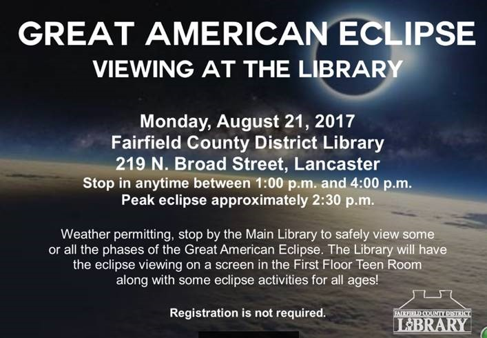 Solar Eclipse Viewing at FCDL