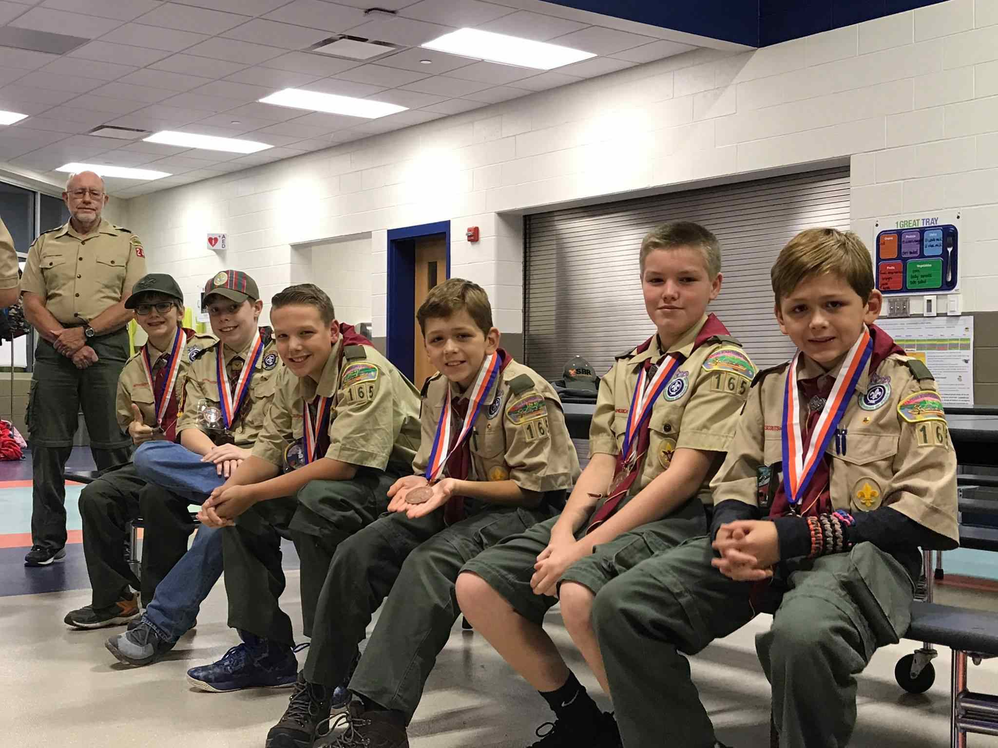 Tarhe's Cub Scout Pack 240 earns Award