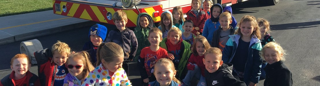 Mt. Pleasant Elementary - Fire Safety Visit 2019